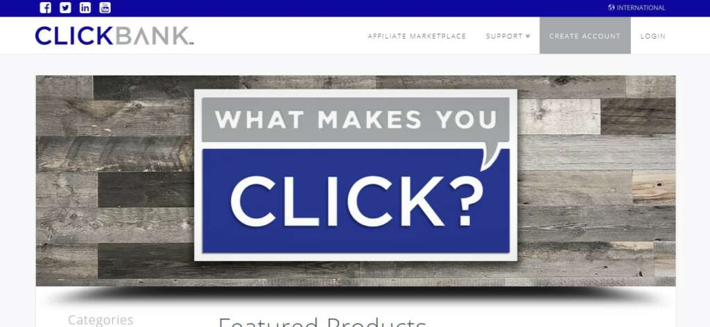 Clickbank - Best Recurring Affiliate network